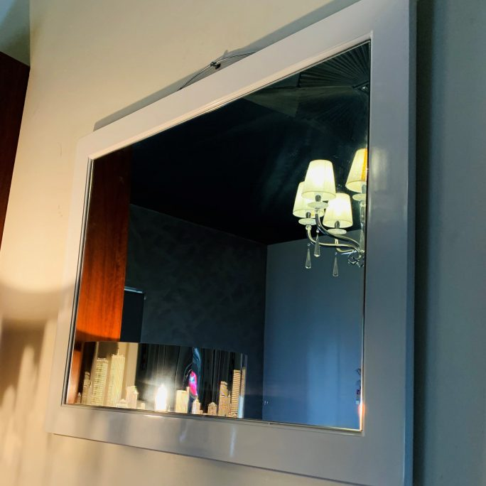 Poly Framed Mirror