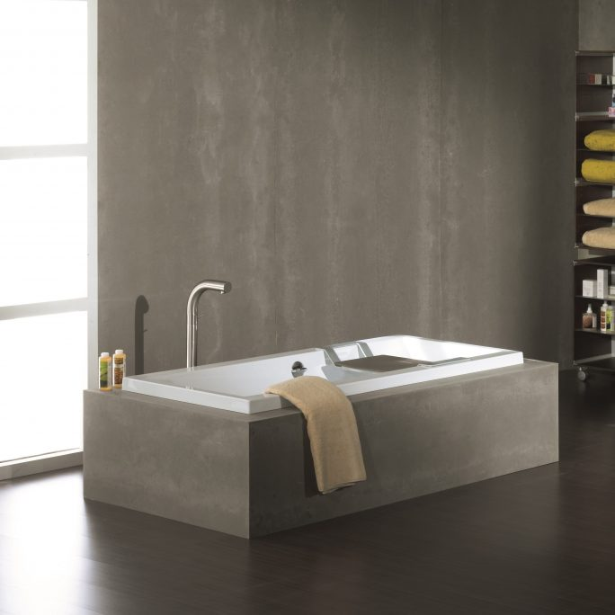 Inset Bathtub
