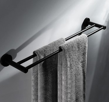 Double Towel Rails 600mm