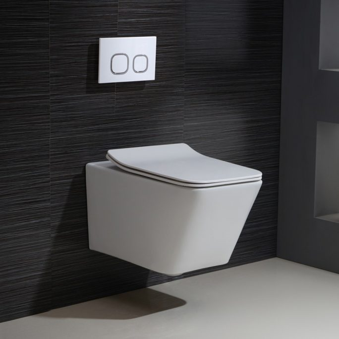 Wall Hung pan/ Cistern/ Button - Packages
