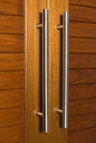 Pull Entry Sets - Satin & Chrome