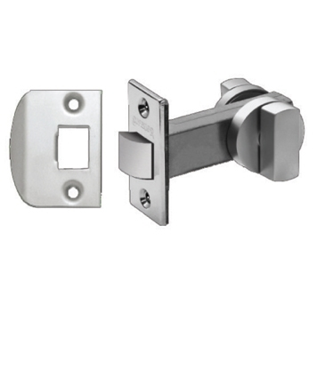 latch self latching snib hinged doors satin