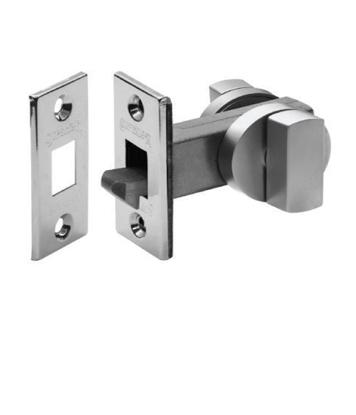 latch self latching snib sliding doors satin
